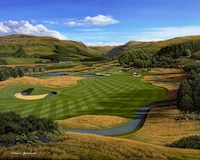 Grandison - Gleneagles - PGA Centenary Course - 2nd hole - LIMITED EDITION 14