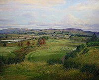 Shearer	Gleneagles - PGA Centenary Course - 8th hole - LIMITED EDITION