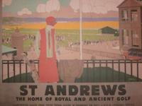 St Andrews L.N.E.R. Railway Print - LARGE- 17